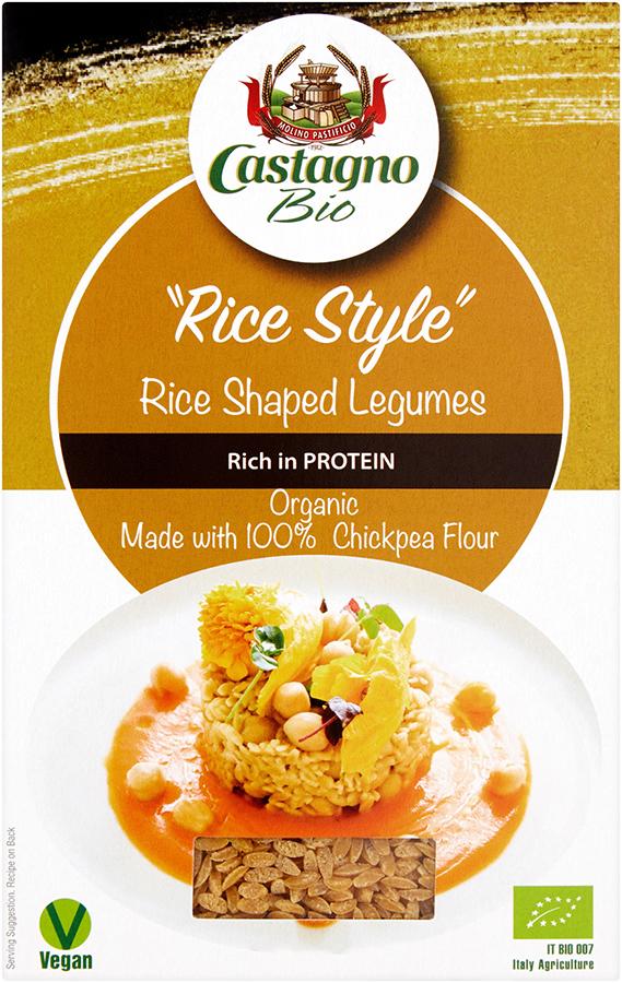Castagno Rice Style Chickpeas - 250g