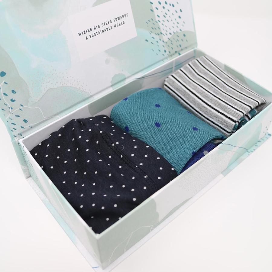 Thought Cannadine Bamboo Bikini Brief And Socks Gift Box