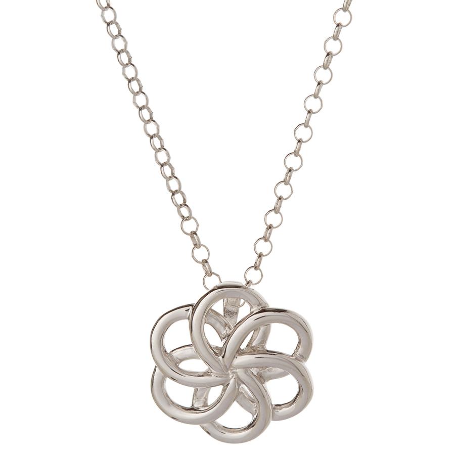 Kashka London Faith Sterling Silver Necklace