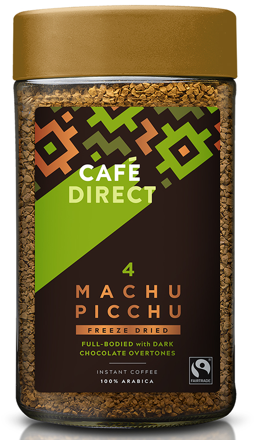 Cafedirect Fair Trade Freeze Dried Machu Picchu Instant Coffee - 200g