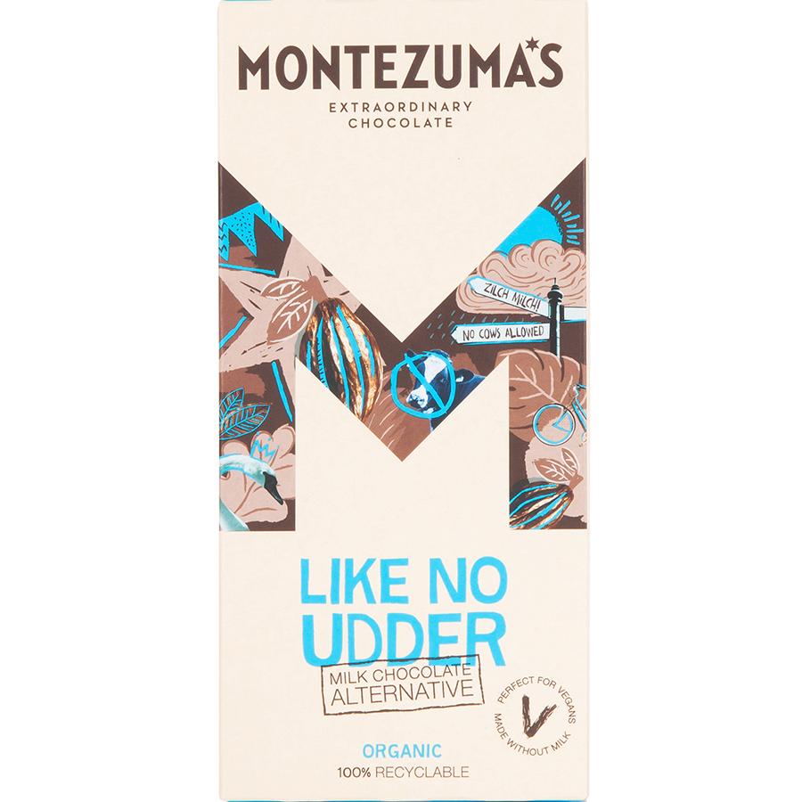 Montezumas Like No Udder Chocolate Bar - 90g