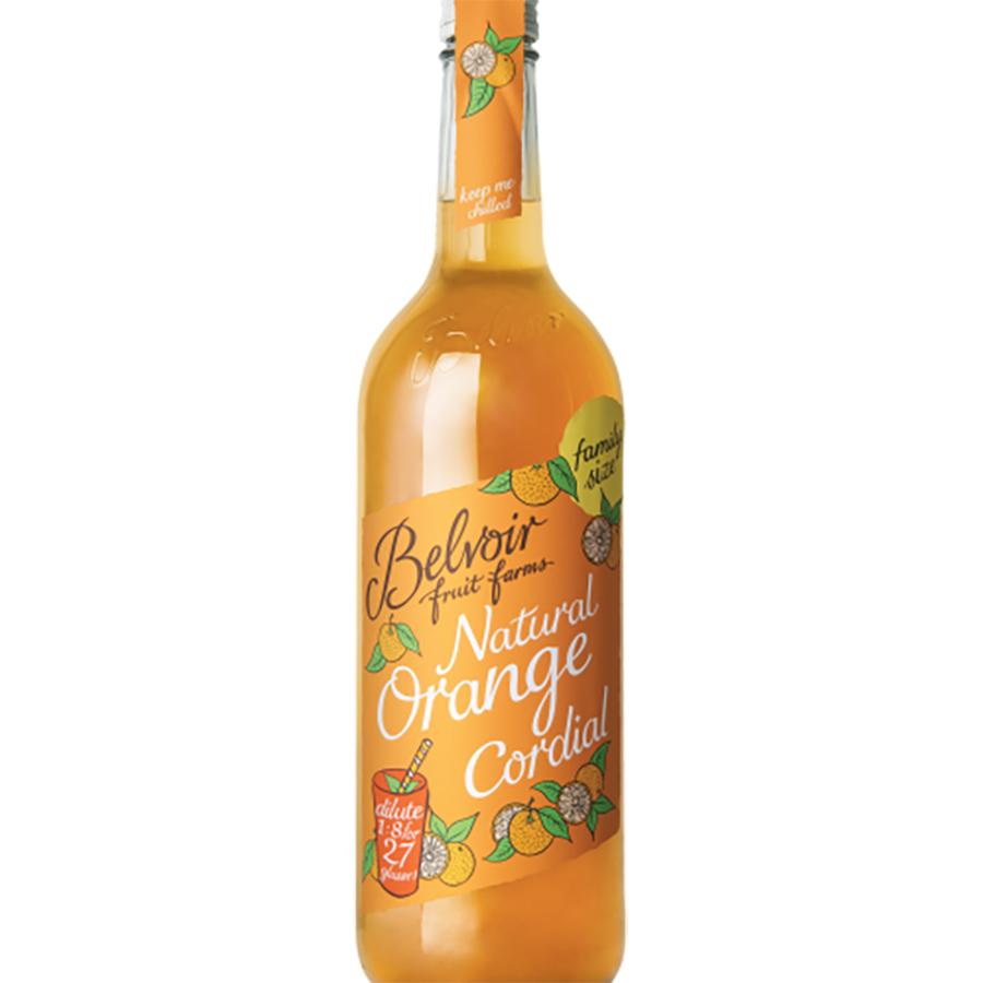 Belvoir Orange Cordial - 750ml - Belvoir