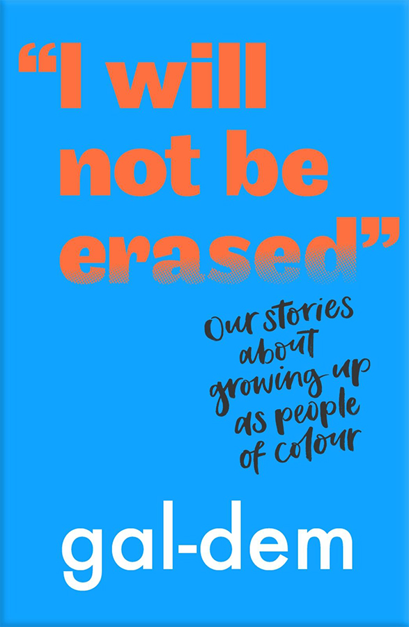 I Will Not Be Erased Paperback Book