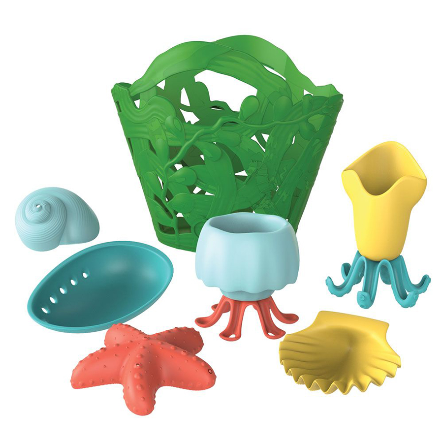 Green Toys Recycled Tide Pool Bath Set