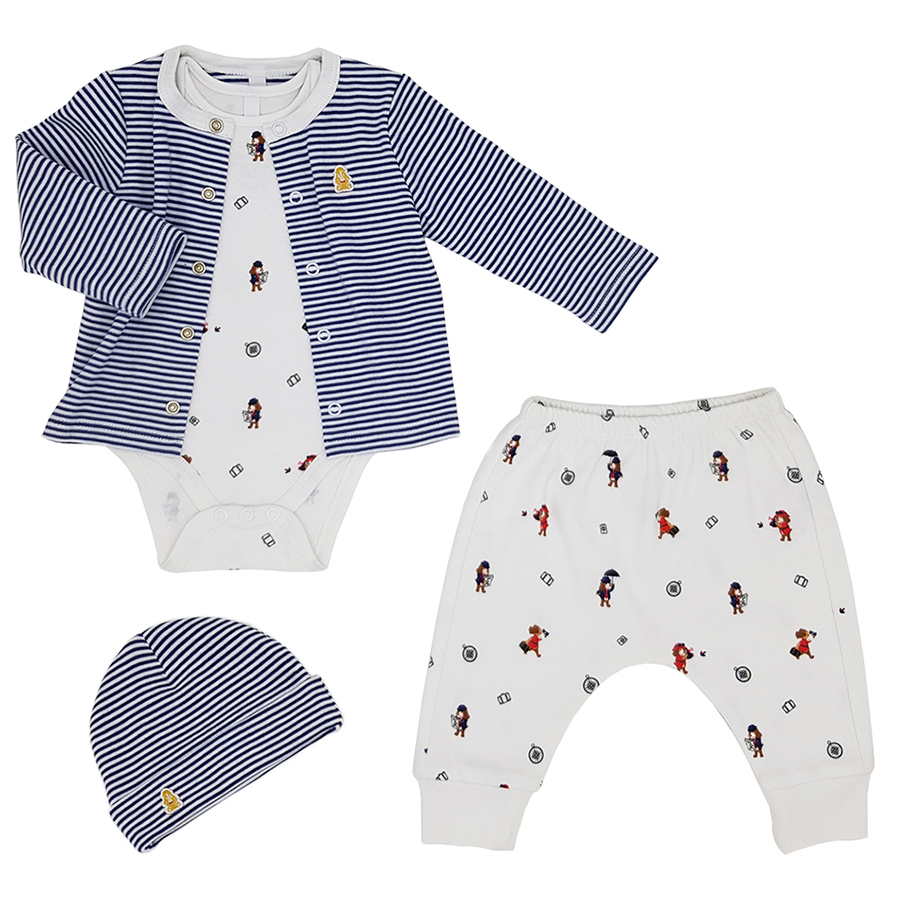 Teddley London My First Outfit Gift Box - Sky Balloons