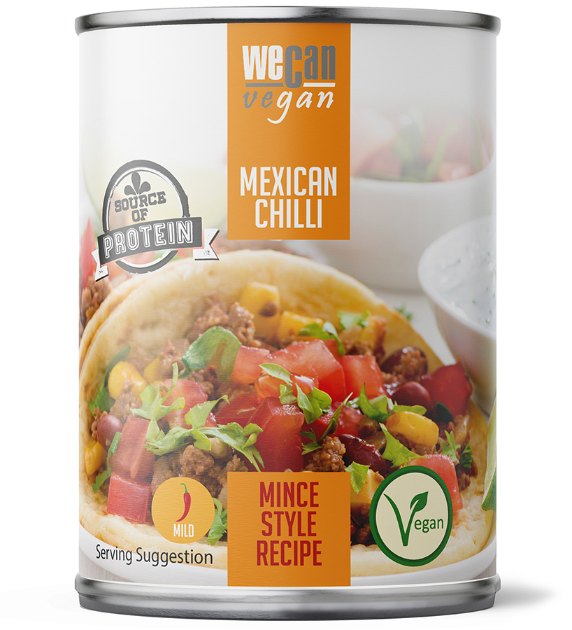 We Can Vegan Mexican Chilli - 400g