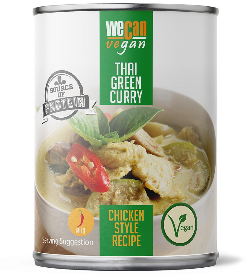 We Can Vegan Thai Green Curry - 400g