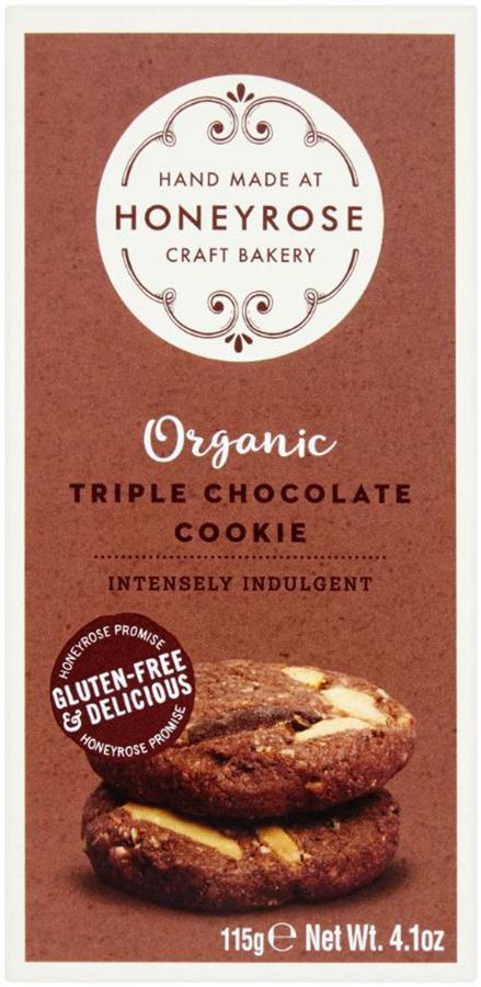 Honeyrose Triple Chocolate Cookies - 115g