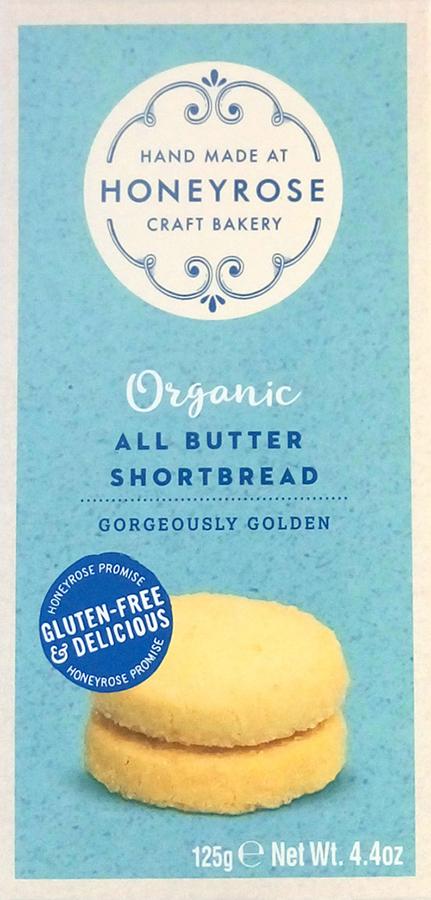 Honeyrose All Butter Shortbread - 125g