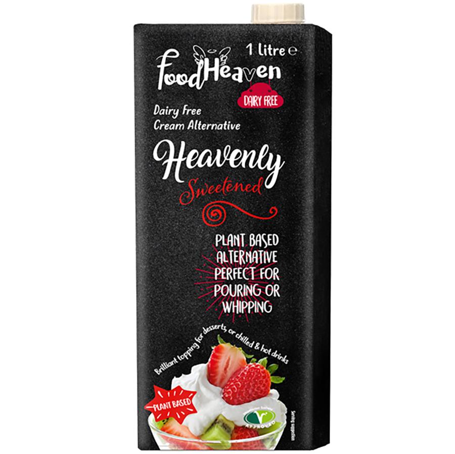 Food Heaven Dairy Free Cream Alternative - Sweetened 1L