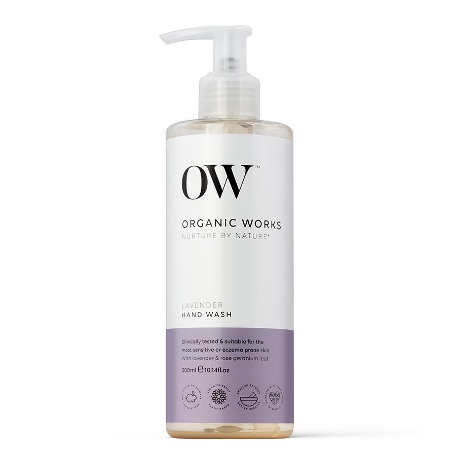 Organic Works Lavender Hand Wash - 300ml