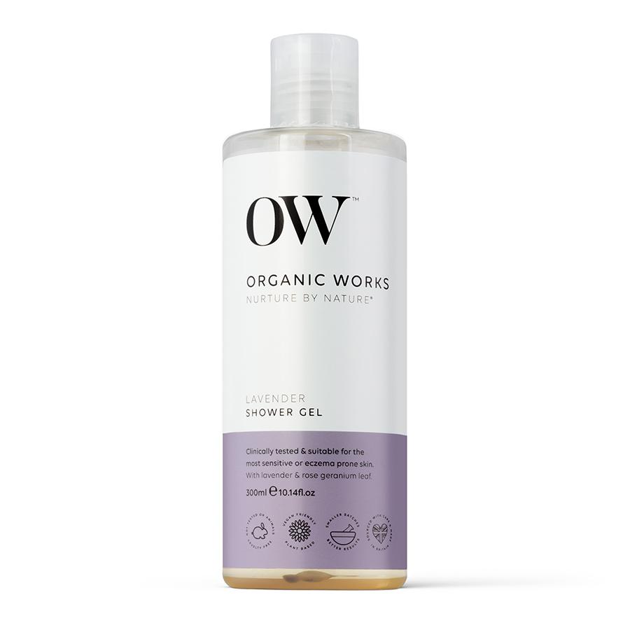 Organic Works Lavender Shower Gel - 300ml