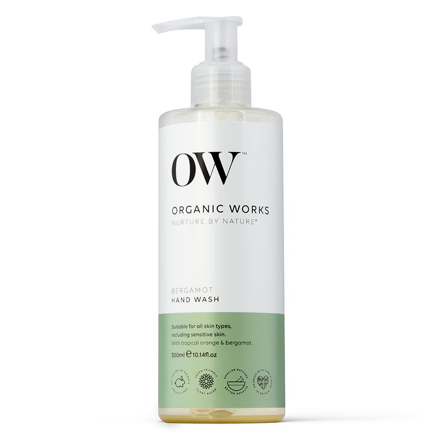 Organic Works Bergamot Hand Wash - 300ml