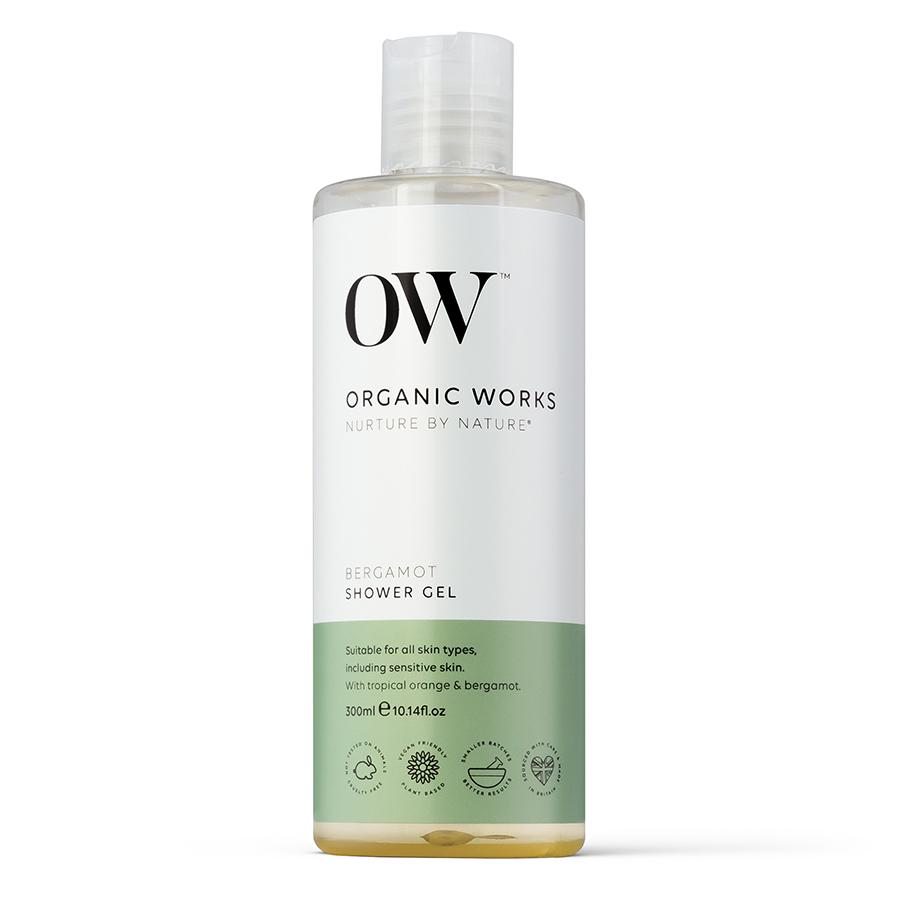 Organic Works Bergamot Shower Gel - 300ml