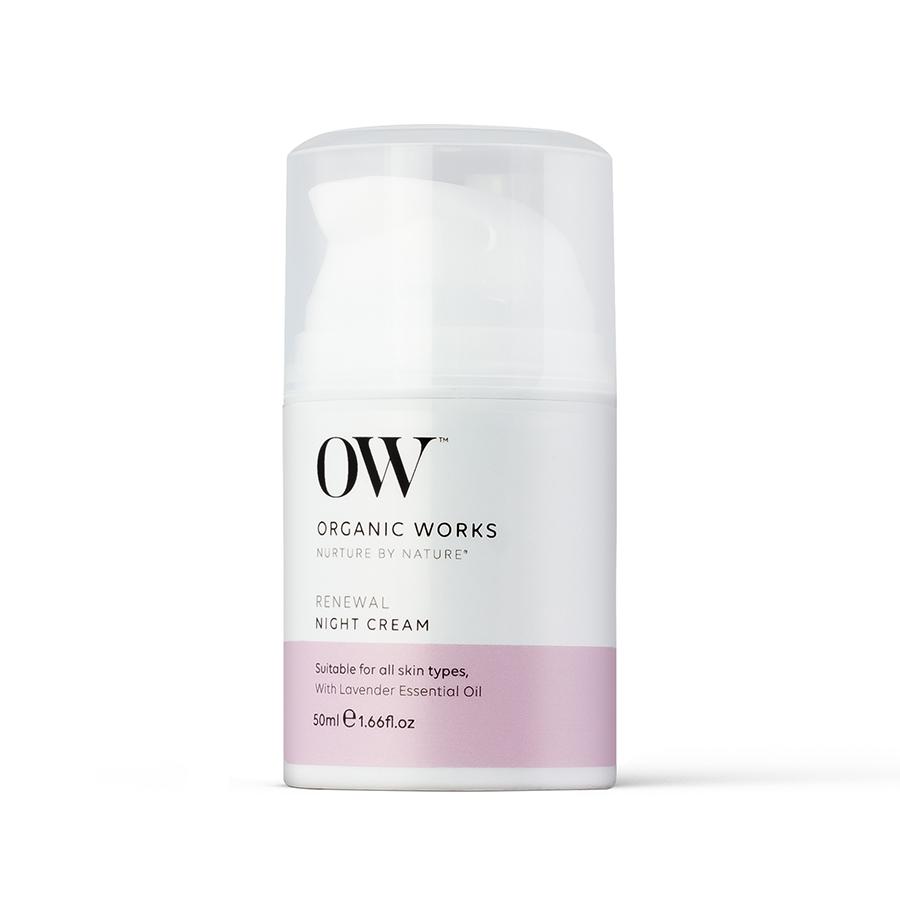 Organic Works Renewal Night Cream - 50ml