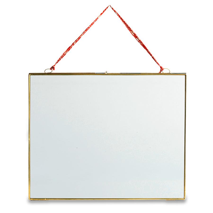 Kiko Glass Brass Frame - 6x4 - Landscape