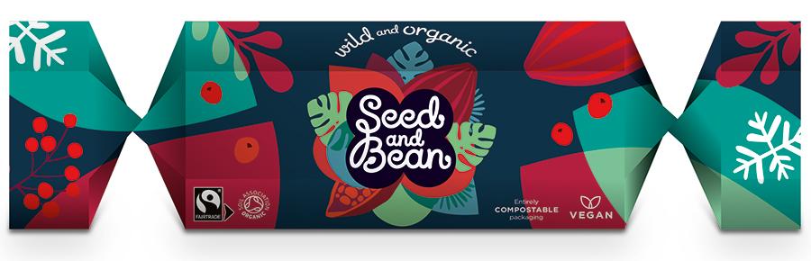 Seed and Bean Organic Christmas Cracker - 100g