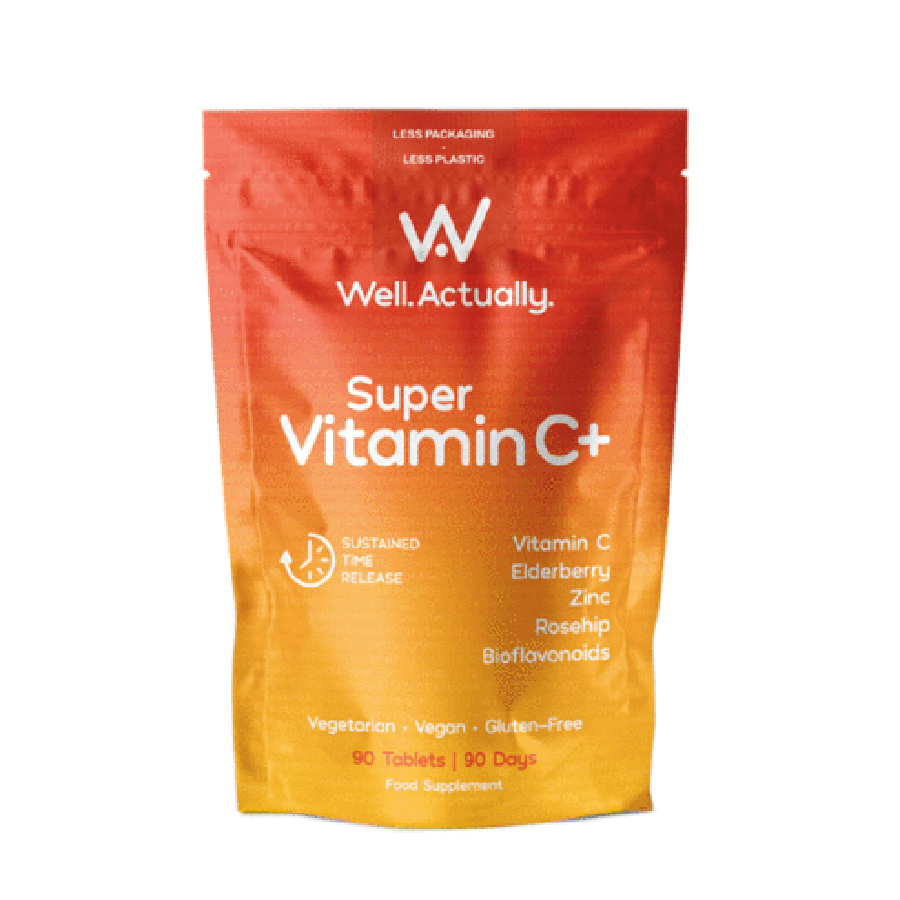 Well Actually Super Vitamin C+ - 90 Tablets