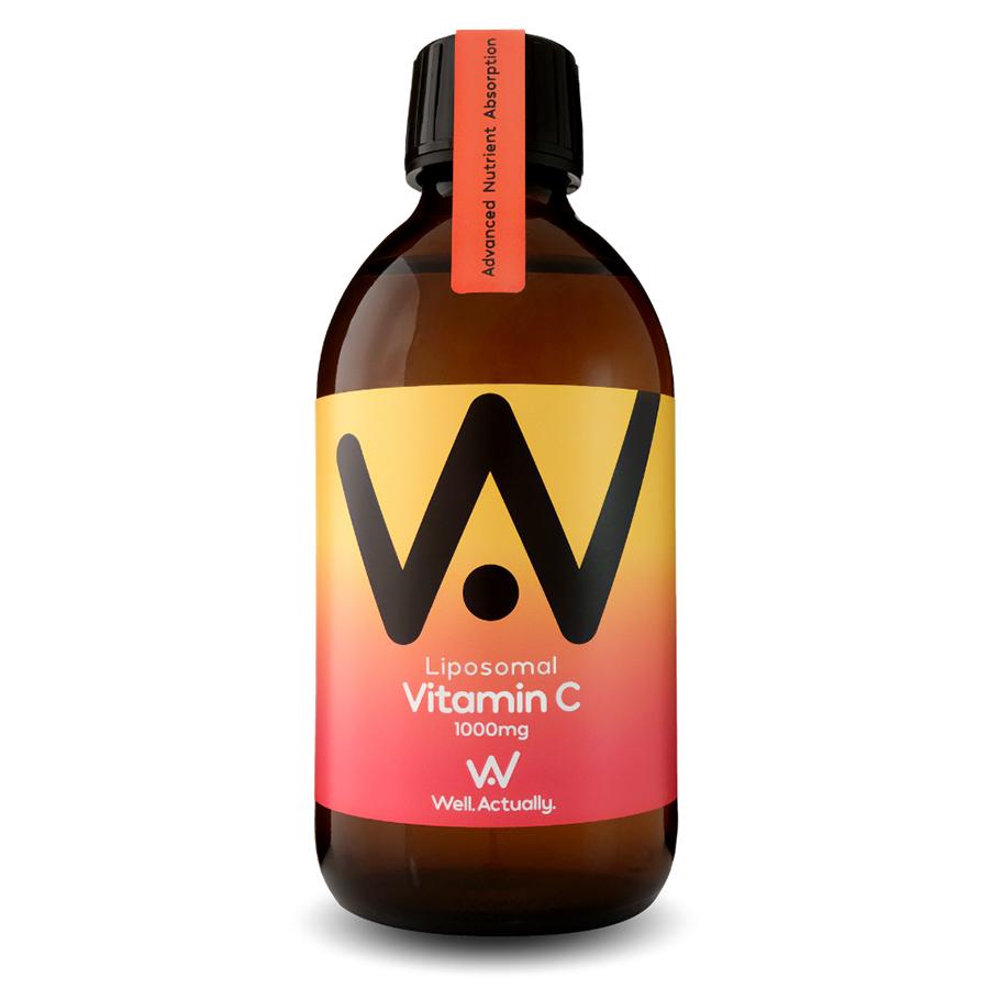 Well Actually Liposomal Liquid Vitamin C - 300ml