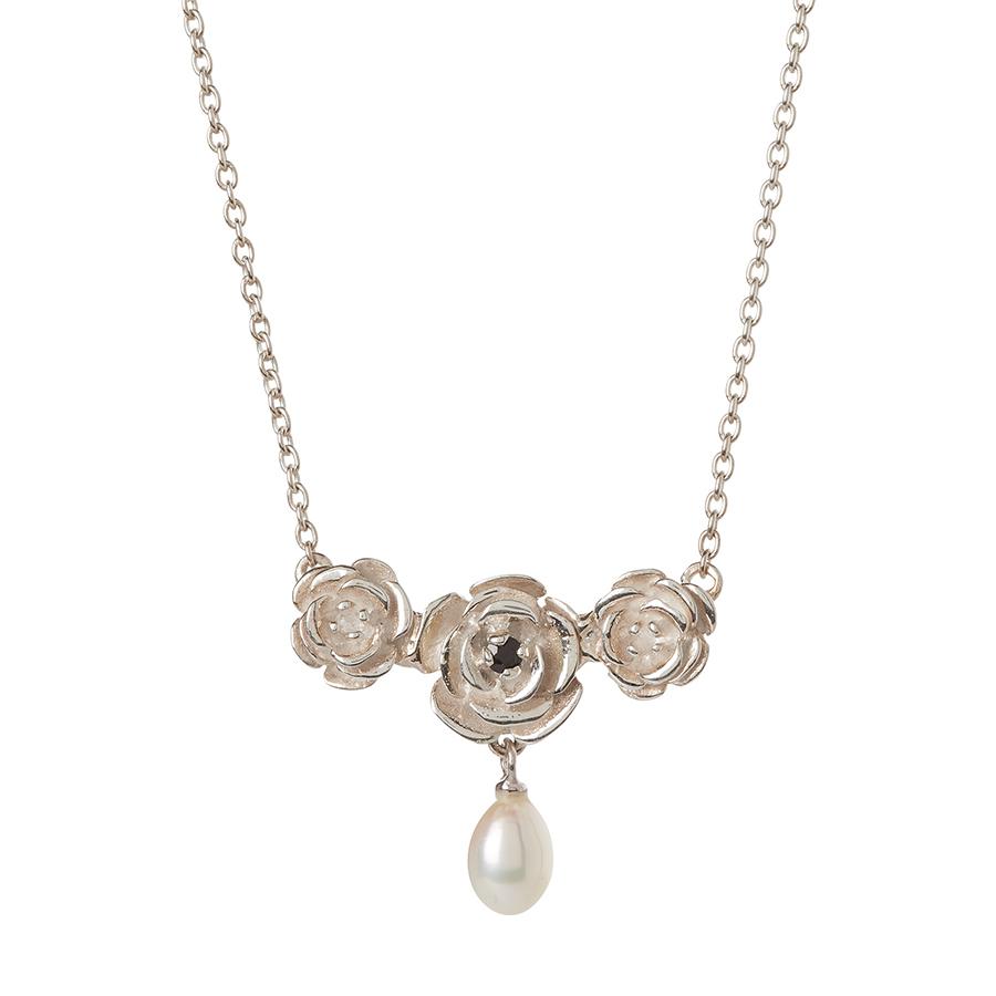 Kashka London Something Blue Sterling Silver Necklace