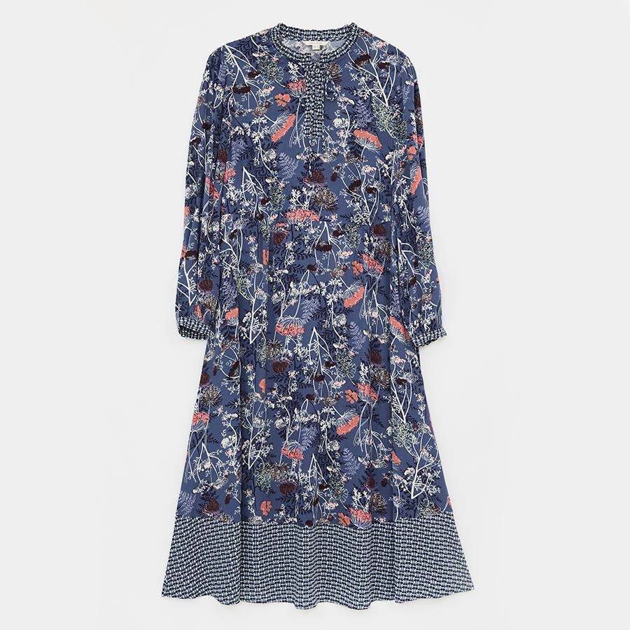 White Stuff Eta Dress - Blue