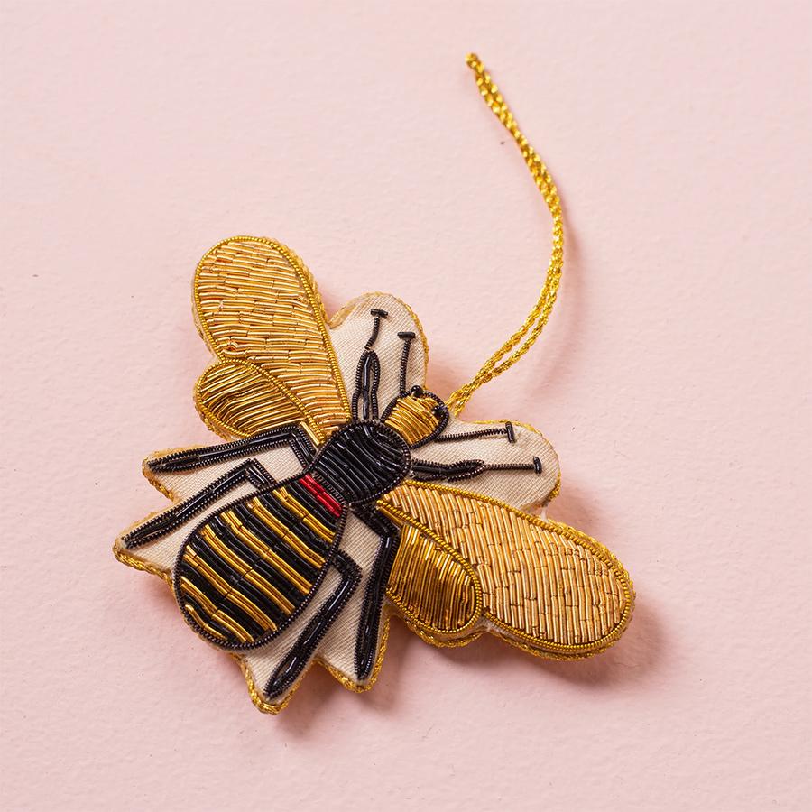 Ian Snow Honey Bee Decoration