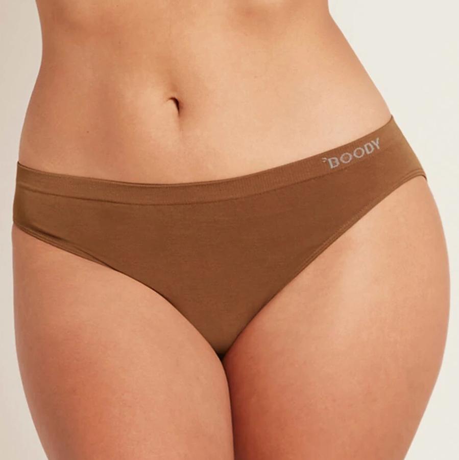 Boody Bamboo Classic Bikini Briefs - Brown
