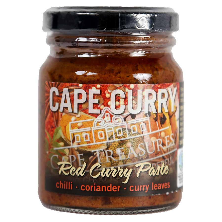 Cape Treasures Red Curry Paste - 125ml