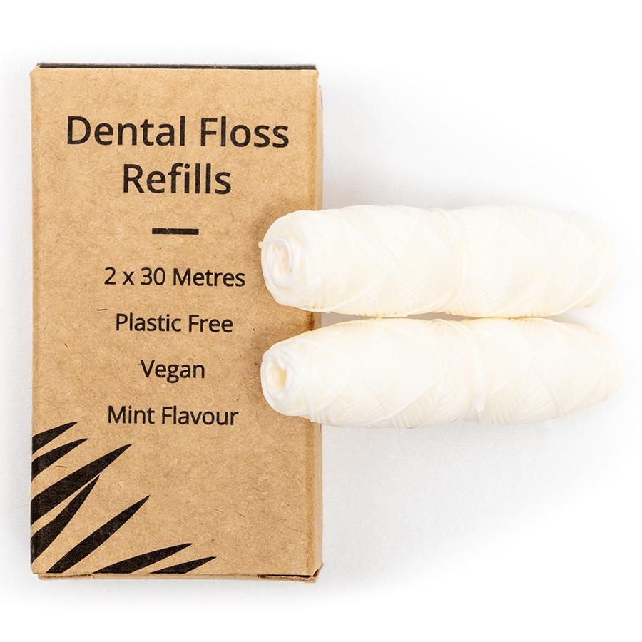 Wild & Stone Corn Starch Dental Floss Refills - Mint