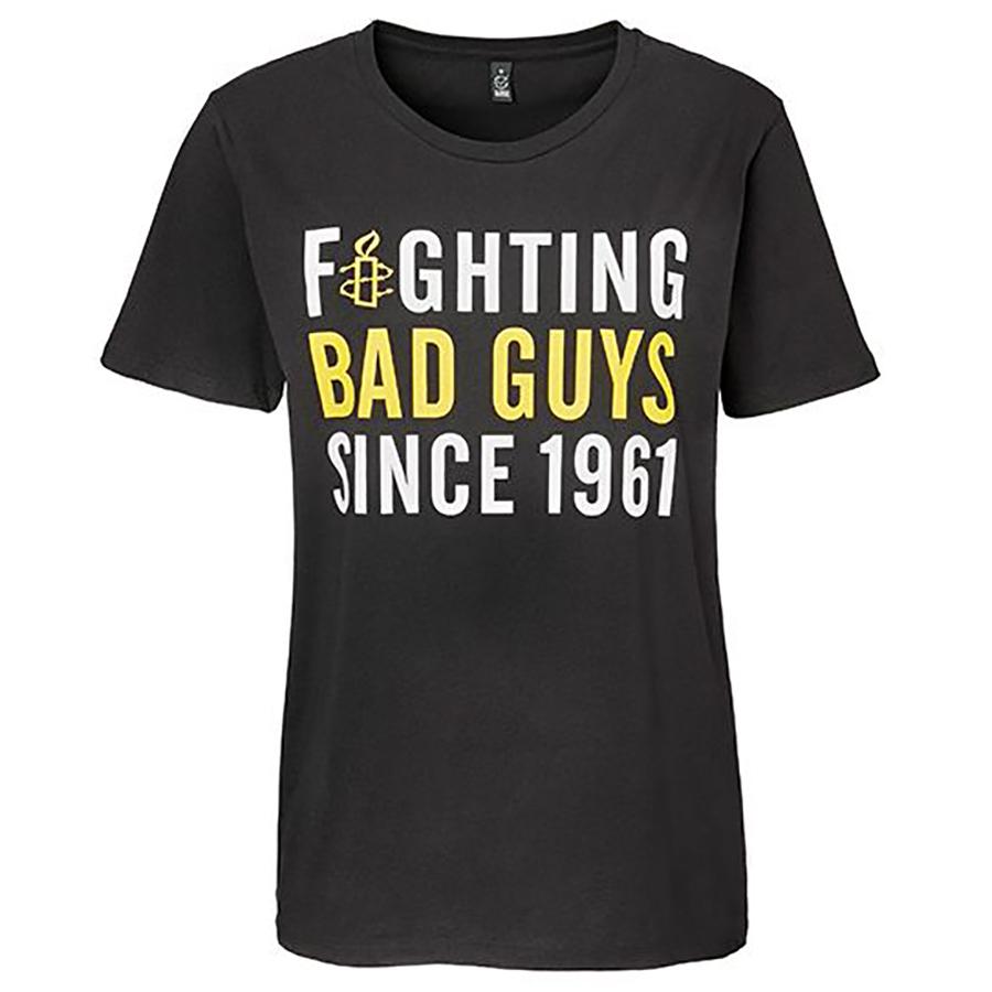 Amnesty Fighting Bad Guys T-Shirt