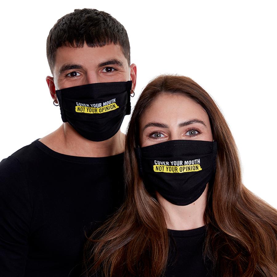 Amnesty Face Masks - Pack of 2