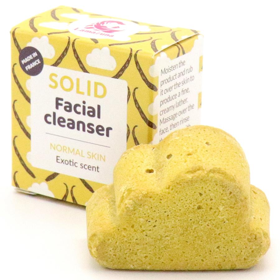 Lamazuna Solid Exotic Facial Cleanser - Normal Skin - 25g