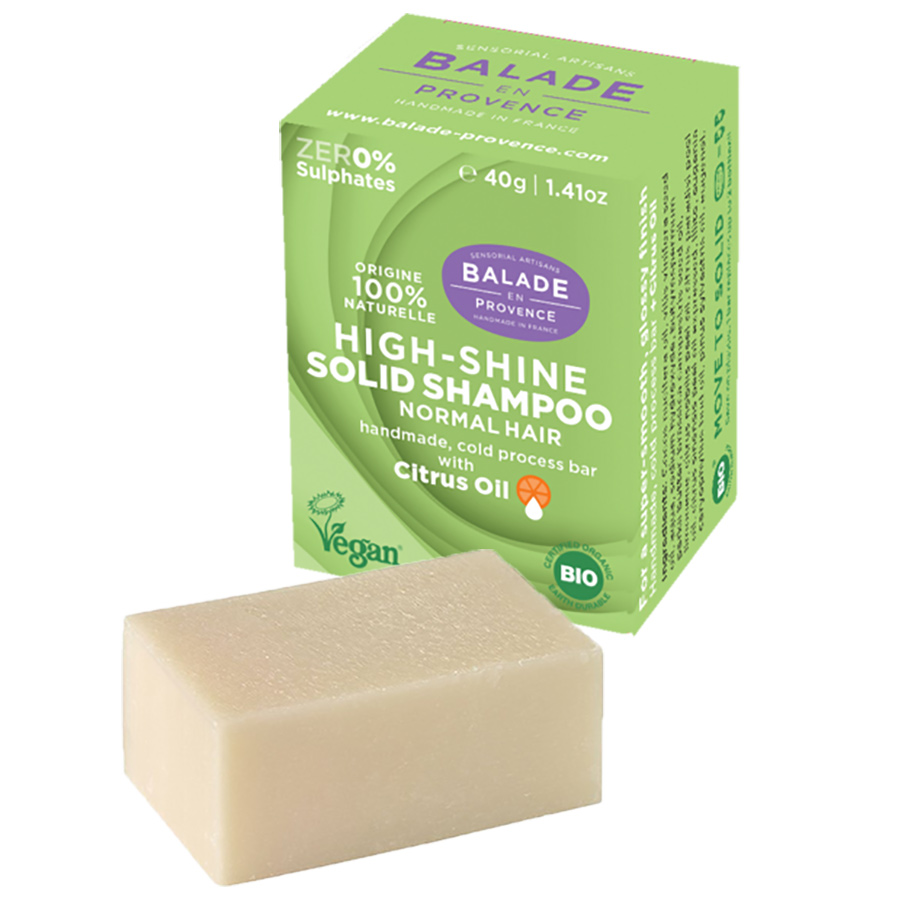 Balade en Provence High Shine Citrus Solid Shampoo - 40g