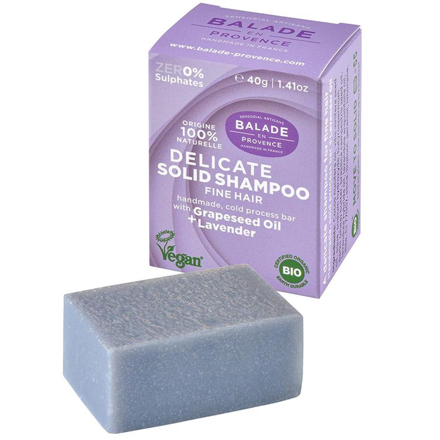 Balade en Provence Delicate Lavender Solid Shampoo - 40g