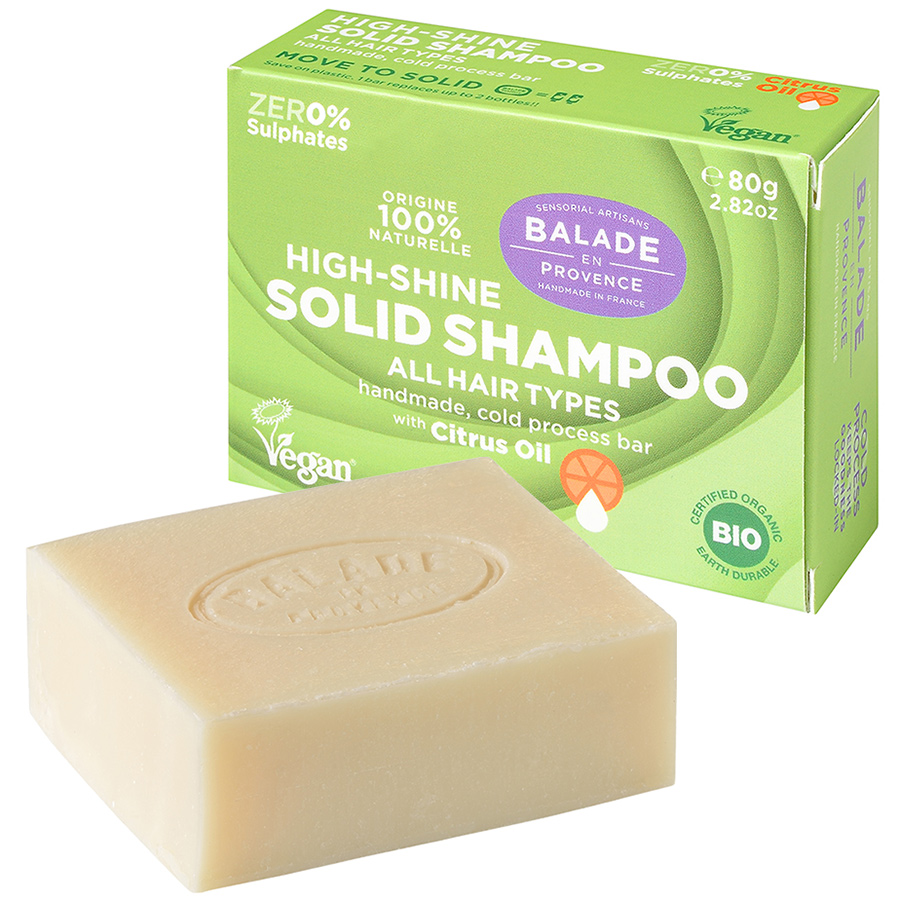 Balade en Provence High Shine Citrus Solid Shampoo - 80g