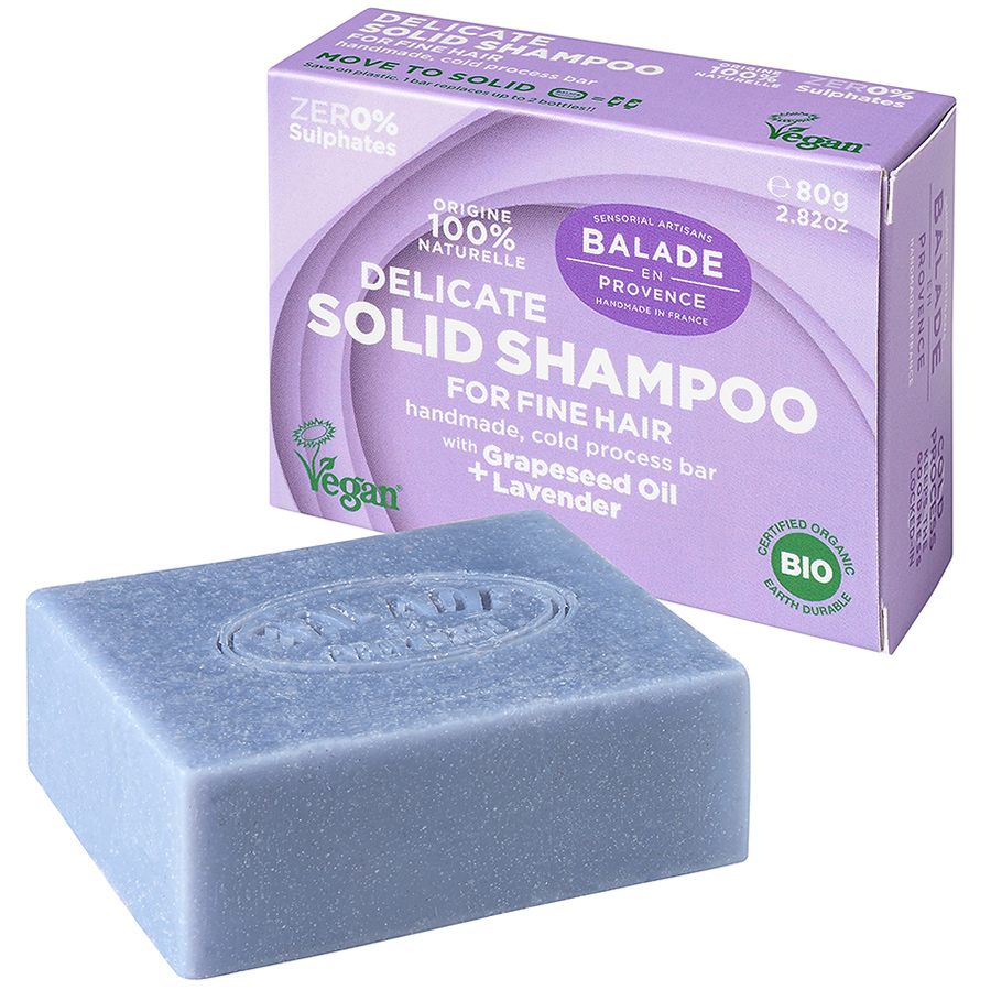 Balade en Provence Delicate Lavender Solid Shampoo - 80g