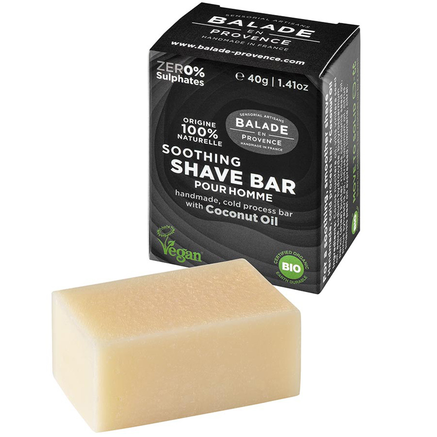 Balade en Provence Soothing Shave Bar for Men - 40g