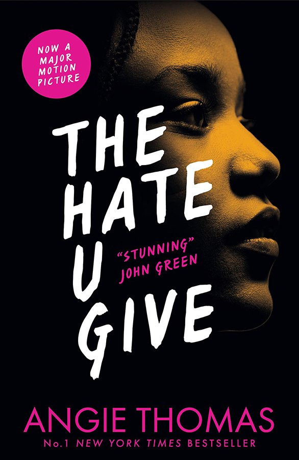 The Hate U give Paperback Book