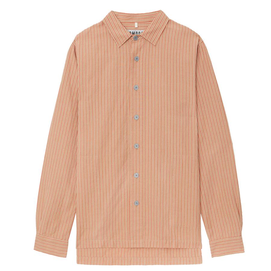 Komodo Deller Organic Cotton Shirt - Lava
