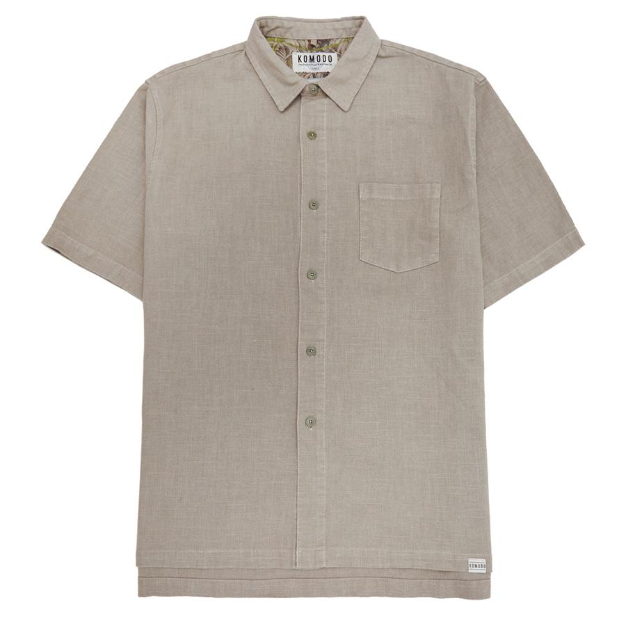 Komodo Dingwalls Organic Cotton Shirt - Khaki