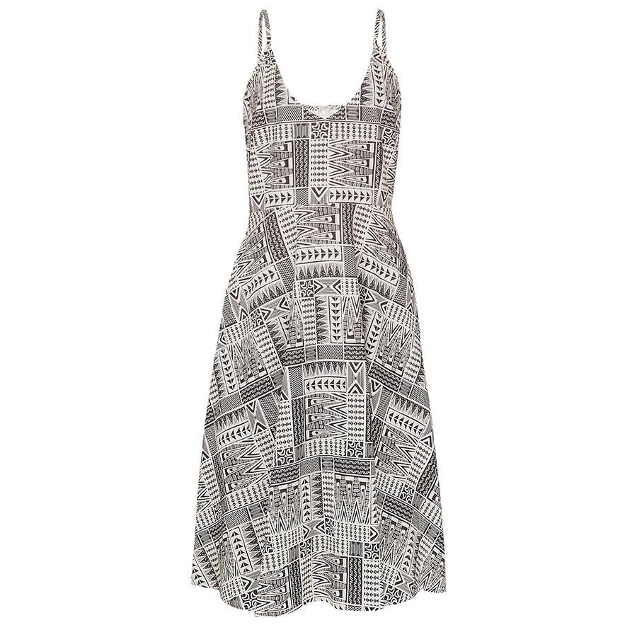 Komodo Island - Organic Cotton Dress - Black