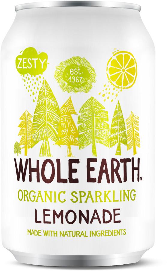 Whole Earth Organic Sparkling Lemonade - 330ml