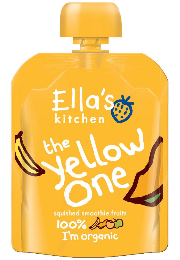 Ella's Kitchen The Yellow One Smoothie Fruit - 90g - Ella ...