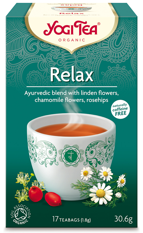 Yogi Organic Relax Tea - 17 Bags