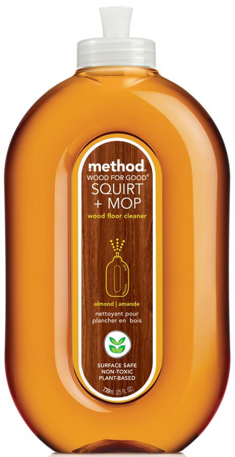 Method Squirt & Mop Wood Floor Cleaner - 739ml