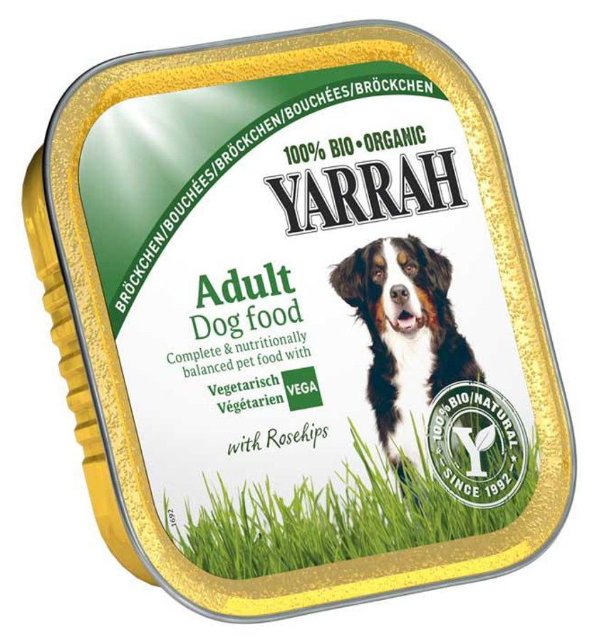 Yarrah Vegetarian Dog Food Reviews