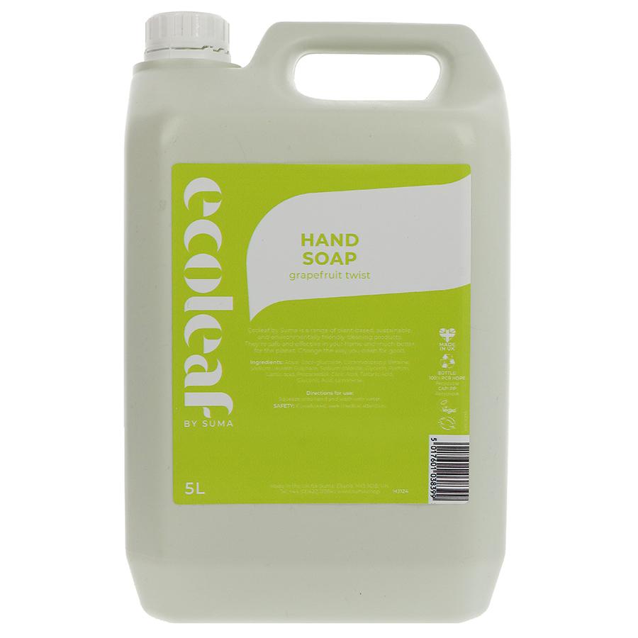 Ecoleaf Hand Soap - Grapefruit Twist - 5L