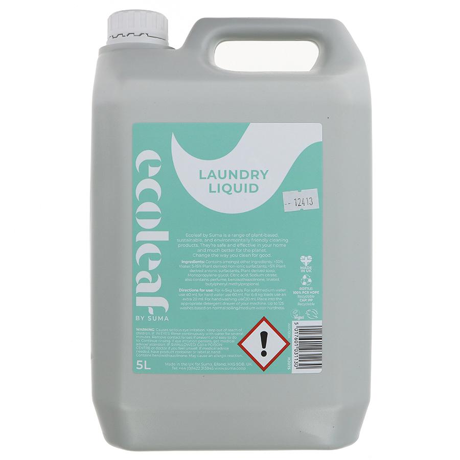 Ecoleaf Non-Bio Laundry Liquid - Summer Rain - 5L