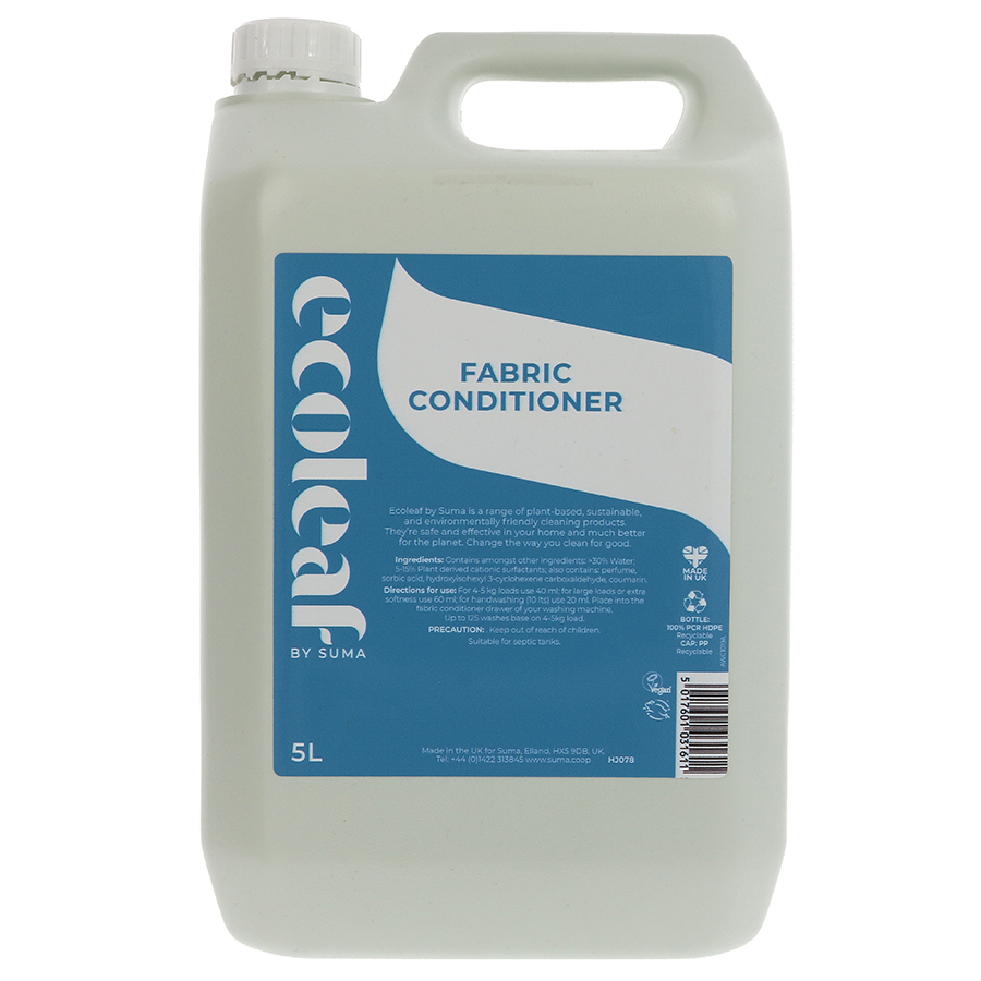 Ecoleaf Fabric Conditioner - 5 litre
