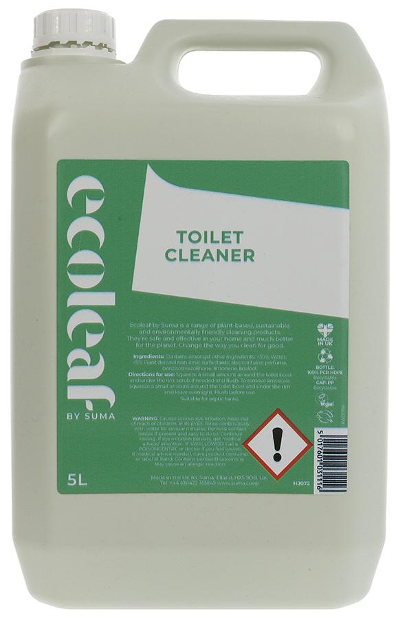 Ecoleaf Toilet Cleaner - Citrus - 5L
